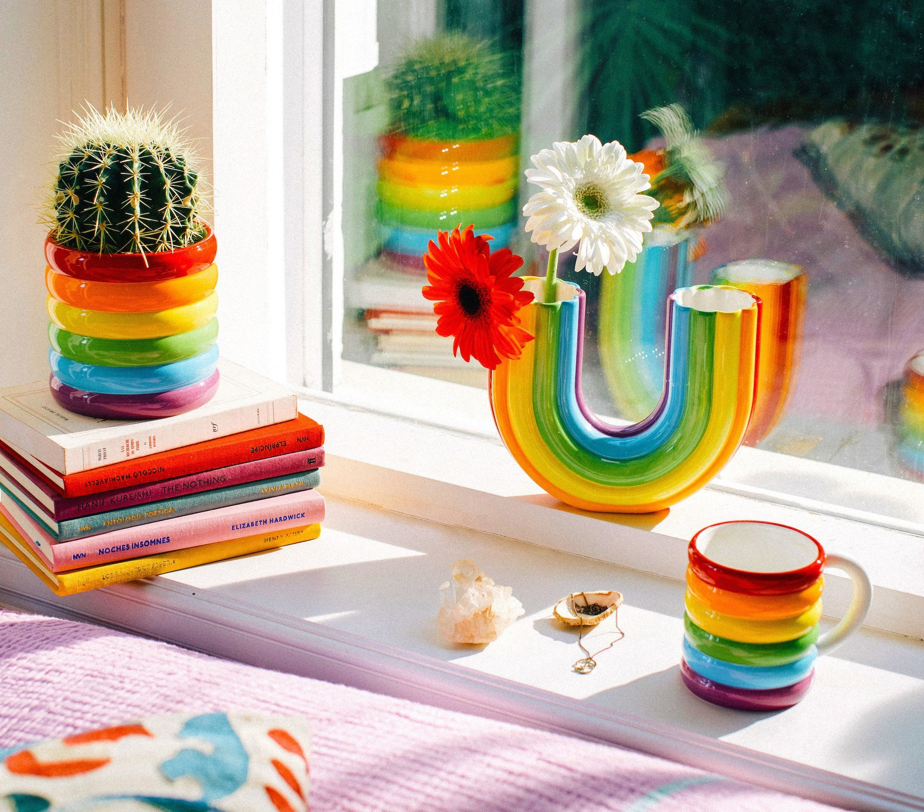 Rainbow Vase & Rainbow Gifts to Show Your Support for NHS